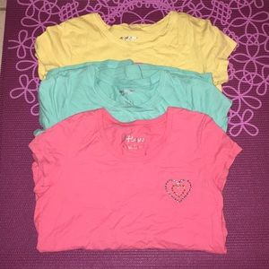 Other - Bundle of 3 tees for girls